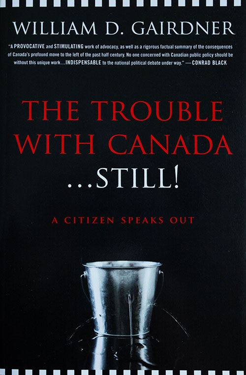 The Trouble with Canada...still book cover