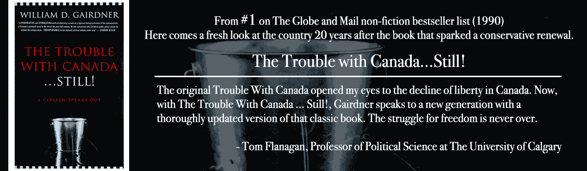 The Trouble with Canada...Still feature poster